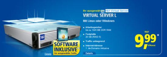 Post image of 1und1 vServer XL