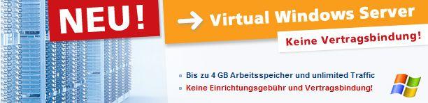 Post image of Strato Windows vServer