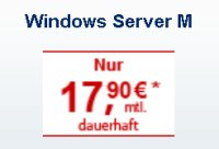 Strato Windows vServer M