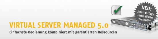 Post image of HostEurope vServer Managed – 30 Tage ohne Risiko