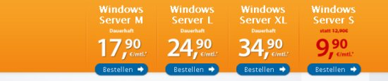 Post image of Strato Windows vServer XL